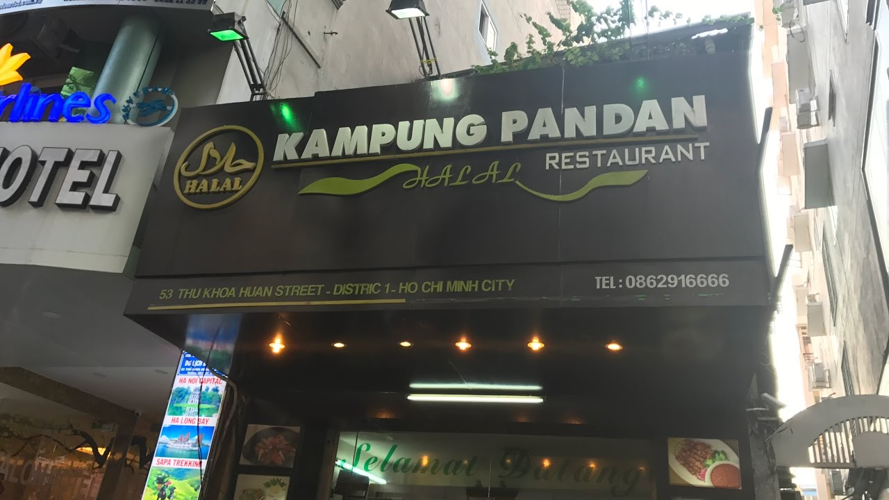 Kampung Pandan Restaurant Halal Food In Ho Chi Minh City Youtube