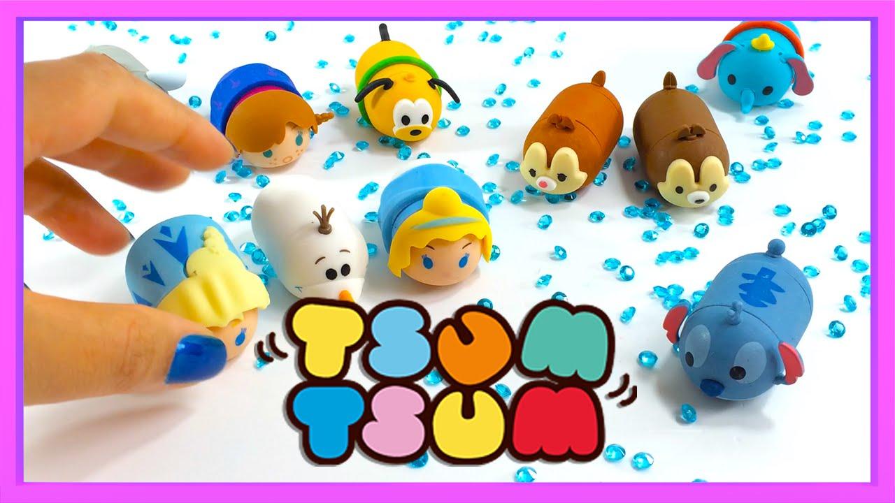 Cómo Dibujar Olaf En La Versión Disney Tsum Tsum: Tsum Tsum DIY Miniature Dollhouse Kit With Working Lights