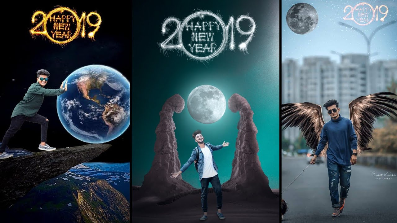 2019 Happy New Year Photo Editing    2019 New Concept Photo Editing     Picsart Latest Photo Editing