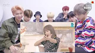 "BTS REACTION |BLACKPINK Funny Moments NEW MINI ALBUM ""KILL THIS LOVE"""