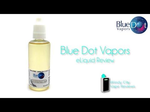 Blue Dot Vapors eLiquid Review