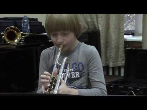 Ja-Da. Bob Carleton (Bobby Hackett). Евсевий Григоренко, 9 лет (труба)