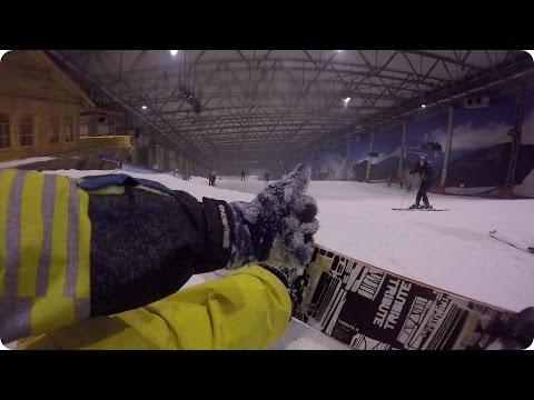 Snowboarding in Druskininkai, Lithuania Snow Arena! | Evan Edinger Travel