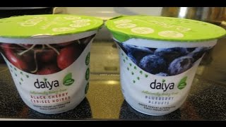 Daiya Dairy-Free Greek Style Yogurt--Black Cherry & Blueberry Flavors (vegan, gluten-free)
