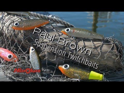 Paul Brown Lures