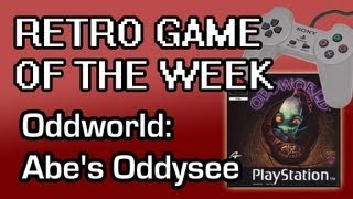 Retro Game of the Week - Oddworld: Abe