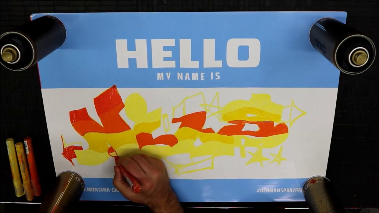 Thirdrailde Products In Action Montana Hello My Name Is Sticker Dina2