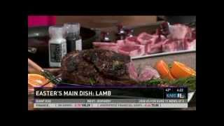 Cooking Lamb for Easter Dinner (3/27/13 on KARE 11)