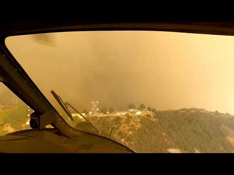 Local News - Three People, Two Dogs Rescued By LAFD Pilots As Woolsey Fire Approached