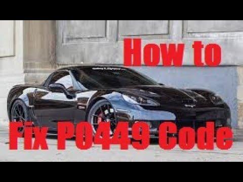 PO449 Check Engine Light Replacing Evaporative Vent Valve Solenoid on Corvette C6 Dorman 911-075