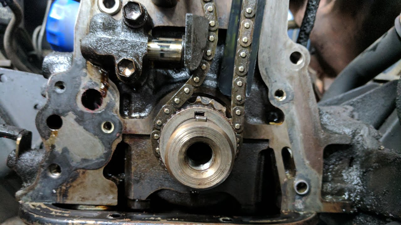 Set Timing Chain - 22r Toyota Pickup