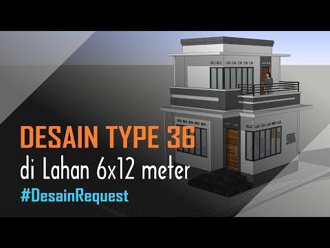 desain-rumah-type-36---2-lantai---2-kamar-(lahan-6x12-meter)