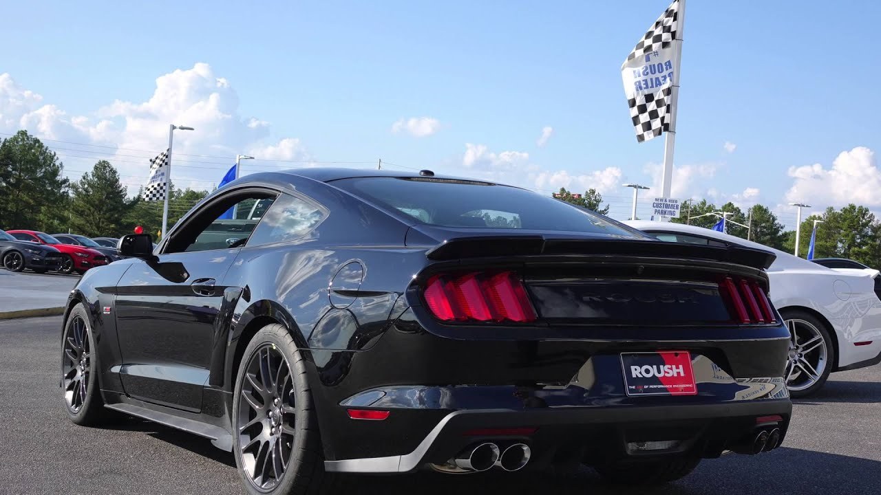 driving the 2015 roush stage 3 mustang review in 4k doovi. Black Bedroom Furniture Sets. Home Design Ideas