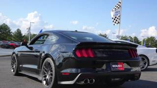 Driving the 2015 Roush Stage 3 Mustang - Review in 4k