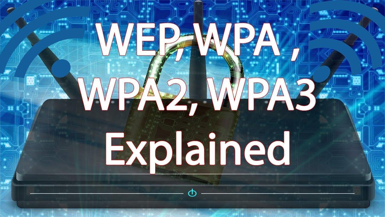 Understanding WEP, WPA, WPA2 and WPA3 in hindi! wifi security