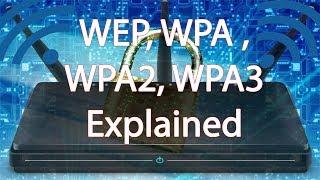 Understanding WEP, WPA, WPA2 and WPA3 in hindi!  wifi security protocol.