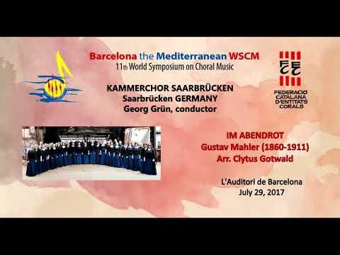 WSCM11 July 29, 2017 KAMMERCHOR SAARBRÜCKEN (Germany)