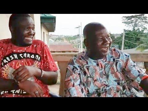 Yomi Fabiyi Pay Courtesy Visit To Baba Suwa,Both Crack Jokes & Laugh So Hard