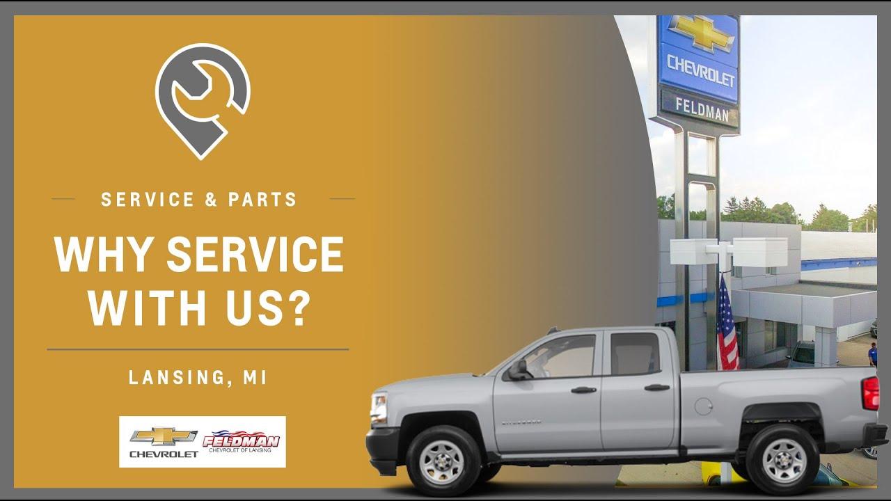 Chevrolet Service Lansing Mi Feldman Chevrolet Of Lansing Service Department Youtube
