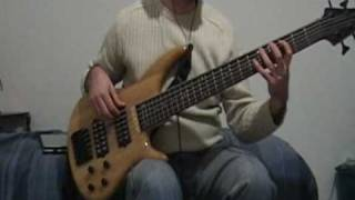 Baixar Radiohead - Paranoid Android bass cover