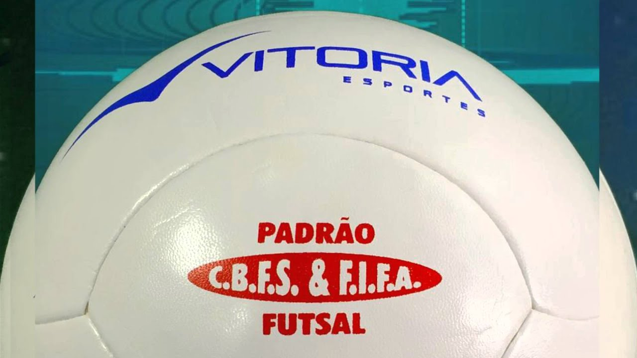 Bola de Futsal Oficial Vitoria Termotec PU 6 Gomos Branca - YouTube 932570b552569
