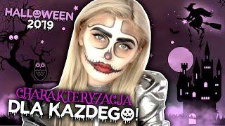 ŁATWY makijaż na HALLOWEEN!