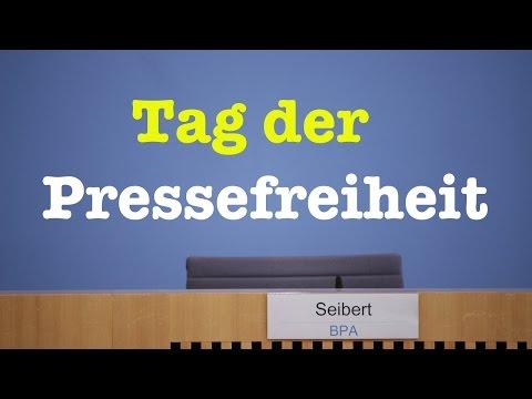 Komplette Bundespressekonferenz vom 3. Mai 2017
