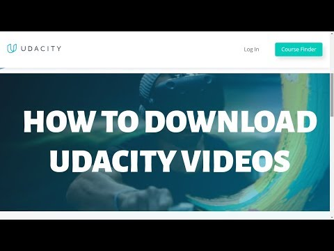How To Download Udacity Videos