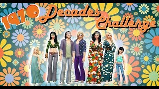 1970 ! Here's the Seventies ! - DECADES CHALLENGE - EP 120 - SIMS 4 fr
