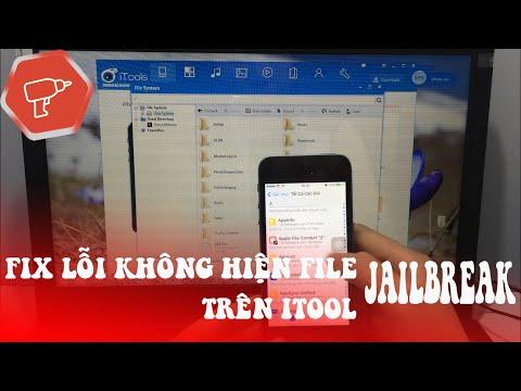 iTools không nhận jailbreak sửa đơn giản như sau