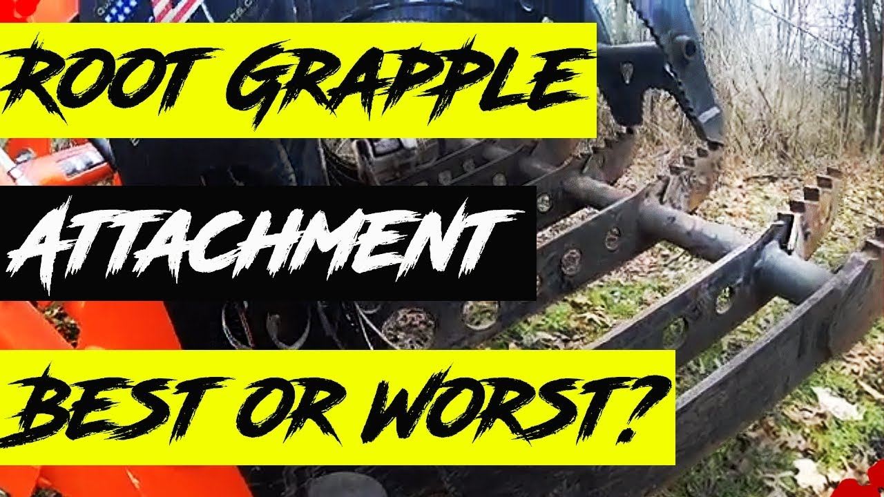 Root Grapple - BEST or WORST Tractor Attachment?