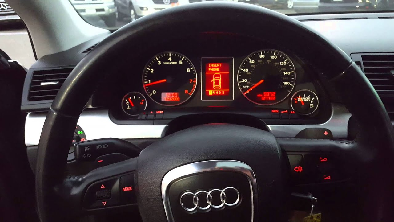 2008 audi a4 s line condition report youtube. Black Bedroom Furniture Sets. Home Design Ideas