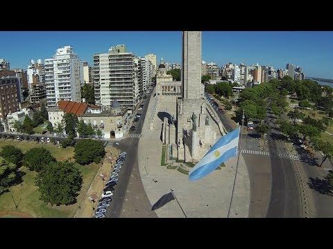 Rosario desde el Aire - Video realizado con un drone
