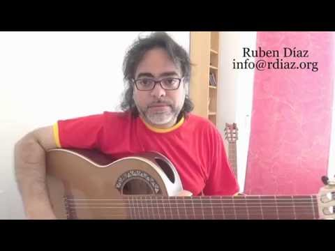 What is the Andalusian Cadence...? /Flamenco guitar Bite #24 Learning online skype /Ruben Diaz Spain