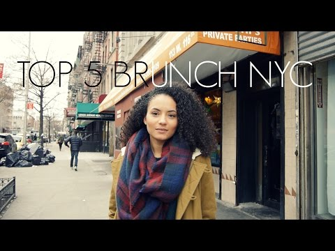 TOP 5 BRUNCH RESTAURANTS IN NYC