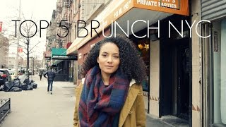 TOP 5 BRUNCH RESTAURANTS IN NYC