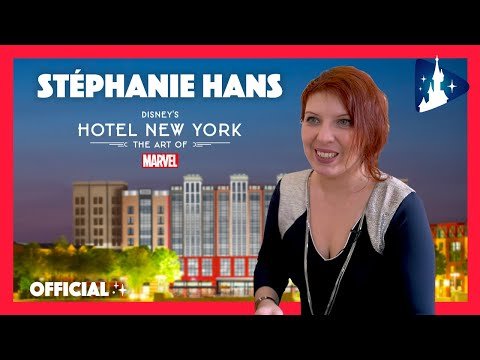 Disney's Hotel New York – The Art of Marvel : rencontre avec Stéphanie Hans from YouTube · Duration:  2 minutes 39 seconds