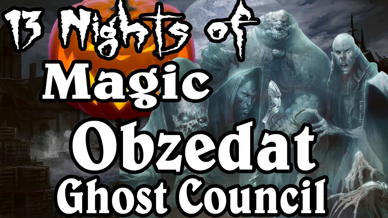 MTG Lore: Obzedat, Ghost Council - YouTube