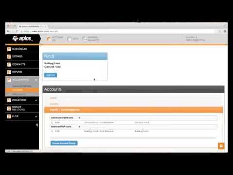 Aplos Webinars - Getting Started with Aplos Accounting