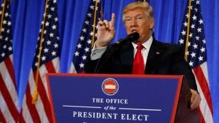 Trump unleashes on Buzzfeed, CNN over 'fake news'