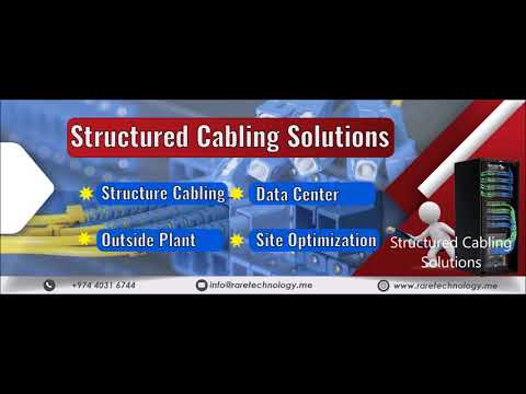 Structured Cabling Solutions- rare technology doha qatar-2017