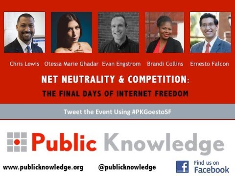 Internet Archive and Public Knowledge Presents Net Neutrality & Competition