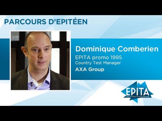 Parcours d'Epitéen - Dominique Comberien (promo 1995) - AXA Group
