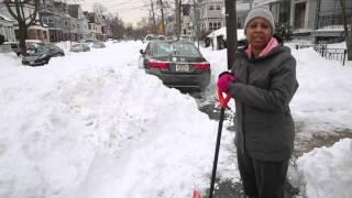 Baldwin Ave. In Newark Has Never Been Plowed