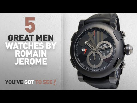 Top 10 Romain Jerome Men Watches [ Winter 2018 ]: Romain Jerome Titanic DNA Swiss-automatic Mens