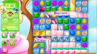 Candy Crush Jelly Saga Level 1539 (3 stars, No boosters)