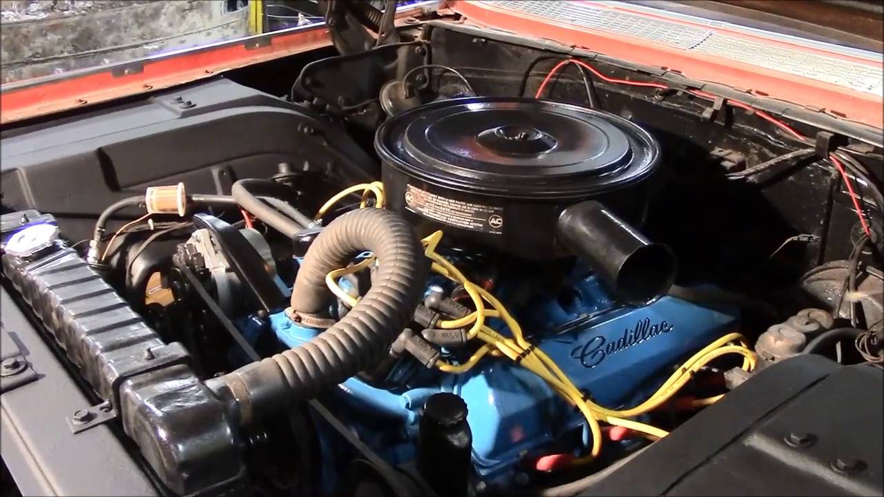 1964 Cadillac Engine Bay Enhancements, www ...