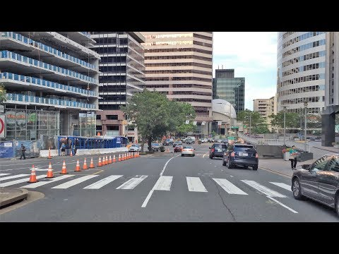 Driving Downtown - Arlington 4K - USA