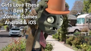 Girls Love These Best 7 Zombie Games Android and iOS