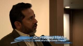 Dr. Pradeep Haldar discusses the Intersolar 2013 DOE Sunshot Prize Workshop